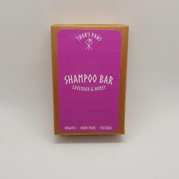 Thor's Paws Lavender & Honey Shampoo Bar 100g