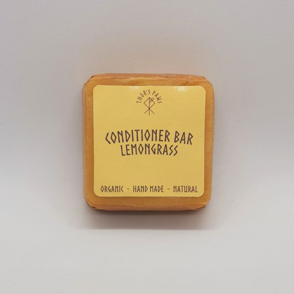 Organic Lemongrass Conditioner Bar 50g