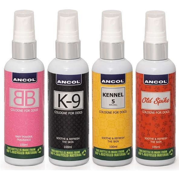 Ancol Cologne 100ml – Various Scents